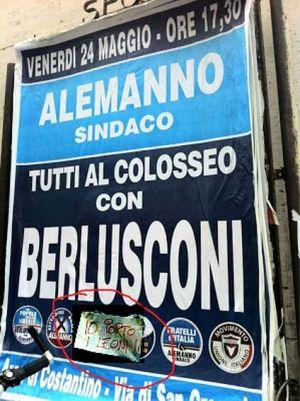 Alemanno-10x15-Berlusconi