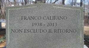 Califano-Franco-tomba