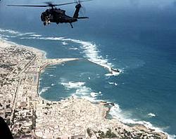 Elicottero Black Hawk abbattuto a Mogadiscio