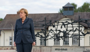 Chancellor Merkel visits Dachau concentration camp
