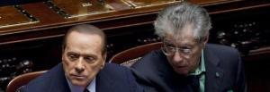Silvio Berlusconi, Umberto Bossi