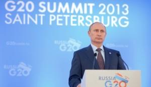 Пресс-конференция В. Путина по итогам встречи лидеров G20