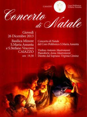 Caiazzo-11x15-Locandina concerto 26-12