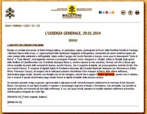 bollettino-15x11-vaticano-udienza-gen-29-01-2014