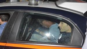 Massimo Bossetti, 43 anni, di Clusone,portato via dai carabinieri-1