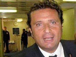 (DPA) STRAGE ISOLA DEL GIGLIO: IL CAPITANO DELLA COSTA CONCORDIA FRANCESCO SCHETTINO
