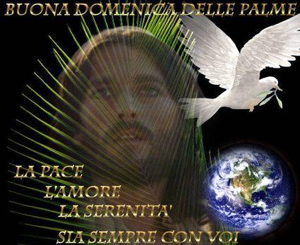 Domenica Delle Palme Messaggio Augurio Di Pace E Bene